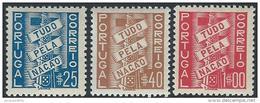 Portugal          Michel            586/588           **              Posrfris  /  Neuf **  /   MNH - 1910-... République
