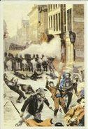 BELGIQUE - Carte N° 32 Du SOIR -- La Troupe Tire Sur Les Grévistes 1902.  (2 Scans) - Grèves
