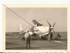 °°°  Avion   °°°    Militaria  °°° PHOTO °   BATEAU PORTE AVION ? °°  ( 500 °°° - Aviation
