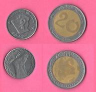 Algeria 2 + 20 Dinari Bimetallico - Algeria