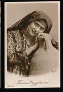 CARTE PHOTO - FEMME EGYPTIENNE - Africa