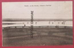 33 - BLAYE--Le Bec D'Ambes--Gabares Au Mouillage- - Blaye