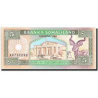 Somalie, 5 Scellini = 5 Shillings, 1994, KM:1a, 1994, NEUF - Somalie