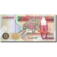 Zambie, 1000 Kwacha, 1992, KM:40a, 1992, NEUF - Zambie
