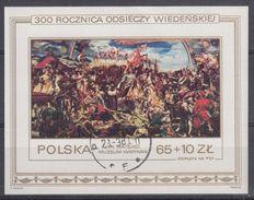 POLONIA 1983 HB-101 USADO - Blocs & Hojas