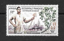 A.O.F  Colonies Françaises : Poste Aérienne 26 ** (cote 2,90 €) - Ongebruikt