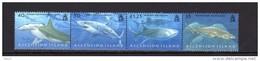 ASCENSION  2008 - Requins - 4 Val Se Tenant Neufs // Mnh - Ascension (Ile De L')