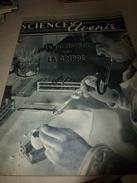 1954 SETA :Grippe-Vaccination;TRANSAT De 60000 T?;Mystérieux Royaume De SABA; Etrange Hippocampe;Grandes Barrages;etc - Science