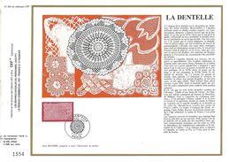 1974 LA DENTELLE DOCUMENT OFFSET - Textiel