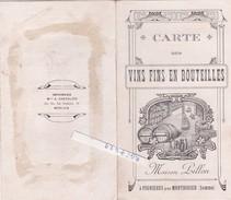 Fignieres---somme---80----vins Fins---maison Billon---(trace Colle Au Dos) - Vecchi Documenti