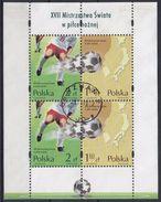 POLONIA 2002 HB-157 USADO - Blocs & Hojas