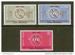 K.U.T. 1965  MNH Stamp(s) I.T.U. - Kenya, Uganda & Tanganyika