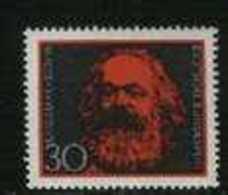 GERMANY 1968 Karl Marx Stamp MHN 558 # 1901 - [7] Federal Republic