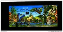AUSTRALIA - 2000  SMALL POND  MS  OVPT BANGKOK  EXPO  FINE USED - Blocchi & Foglietti