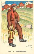 Ref U604- Suisse - Illustrateurs - Illustrateur E Bille  - Valais  -champerolaise  - Carte Bon Etat - - Sin Clasificación