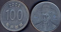 Korea South 100 Won 2002 VF - Korea, South