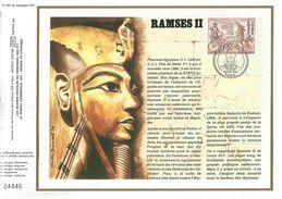 1976 RAMSES II DOCUMENT OFFSET - Egyptologie