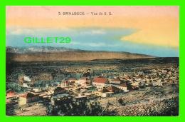 BAALBECK, LIBAN - VUE DE LA VILLE DU SUD EST - L. FÉRID, LIBRAIRIE STAMBOUL - - Liban