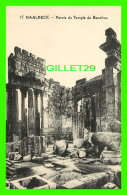 BAALBECK, LIBAN - PARVIS DU TEMPLE DE BACCHUS -  L. FÉRID, LIBRAIRIE STAMBOUL - - Liban
