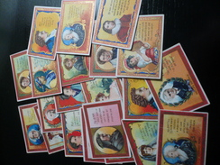 Cigarette Card Lot (6) - N° 21 MOGUL Cards Toast Series Anargyros - Vecchi Documenti