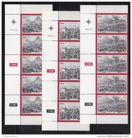 SOUTH AFRICA, 1979, MNH Control Block Of  5, Zulu War,  M 556-558 - South Africa (1961-...)