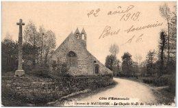 22 MATIGNON - La Chapelle N.D. Du Temple   (Recto/Verso) - France