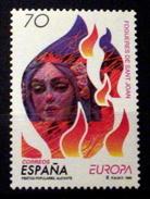 SPAIN # 2941.  70p,  Europa- Bonfire Of St. John.    MNH (**) - 1931-Today: 2nd Rep - ... Juan Carlos I