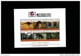 AUSTRALIA - 1994  PHILAKOREA  MS  MINT NH - Blocchi & Foglietti