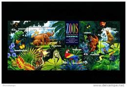 AUSTRALIA - 1994 ZOOS ENDANGERED SPECIES MS   MINT NH - Blocchi & Foglietti