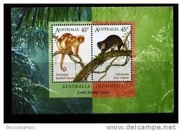 AUSTRALIA - 1996 FAUNA AUSTRALIA-INDONESIA JOINT ISSUE MS  MINT NH - Blocchi & Foglietti