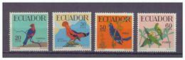 Ecuador, Mi.-Nr. 981/84, **, 1958 Tropische Vögel - Birds