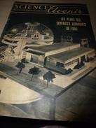1955 SETA : Plans Centrales Atomiques;Avion LE CARAVELLE;L'HYDRO-ELECTRIQUE De Russie;Trains Télécommandés;Entomologie - Science
