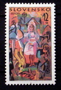 SLOVAKIA # 302.  12k, Europa - Folklore Festivals - Slovakia