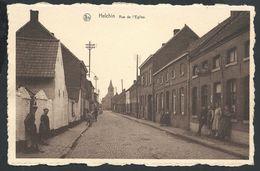 +++ CPA - HELCHIN - Rue De L'Eglise - Nels - Commerce Cigarettes - Café ?  // - Espierres-Helchin - Spiere-Helkijn