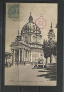 ITALIA REGNO ITALY KINGDOM 1917 CARTOLINA POSTACARD TORINO REALE BASILICA DI SUPERGA - Churches