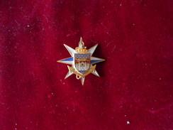 INSIGNE ECOLE SERVICE DE SANTE DES ARMEES DE BORDEAUX SANS FAB AU DOS - Armée De Terre