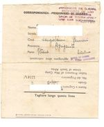 1738) POW 2-10-1945 SOUTH AFRICA CENSOR WAR CAMP PRISONERS - Marcophilia