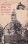 02 HARTENNES Et TAUX - L'Eglise - Cpa - France