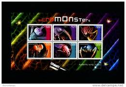 AUSTRALIA - 2009  MICROMONSTERS MS MINT NH - Blocchi & Foglietti