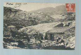 CPA (74) Platais - Carte Photo écrite Le 17 Août 1908 - Autres Communes