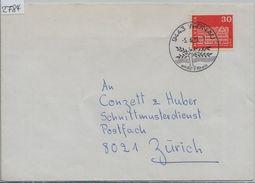 1973 Gais 416/882 - Stempel: 9443 Widnau 5.6.73 - Schweiz