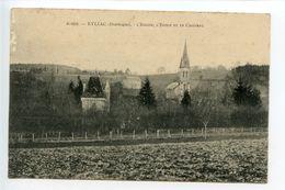 Eyliac L'église L'école Et Le Château - Other Municipalities