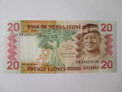 Sierra Leone 20 Leones 1984 Banknote - Sierra Leone