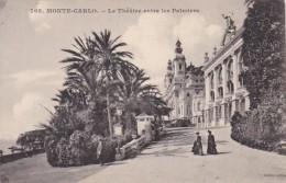 Monaco Monte Carlo Le Theate Entre Les Palmiers - Opera House & Theather