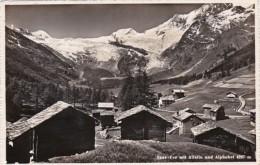 Switzerland Saas-Fee Mit Allalin Und Alphubel Photo - VS Valais