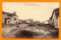 54. Ville-en-Vermois. Rue Du Centre. Ancienne Chapelle St. Quirin. Franchise Trésor Et Postes 28 Août 1914. SP 137 - Francia