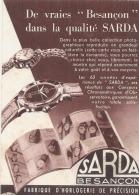- Carte Postale Publicitaire - De Vraies Besançon Dans La Qualité SARDA - TTB - Publicité