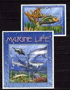 Tuvalu 2000 Marine Life MNH -(V-16) - Marine Life