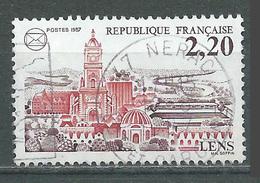 France YT N°2476 Lens Oblitéré ° - Frankreich