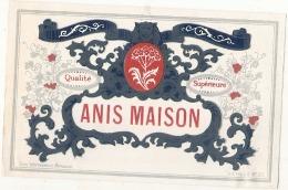 --- Modele Gébérique Imprimeur - Anis Maison ---  (point De Colle Dos) - Whisky